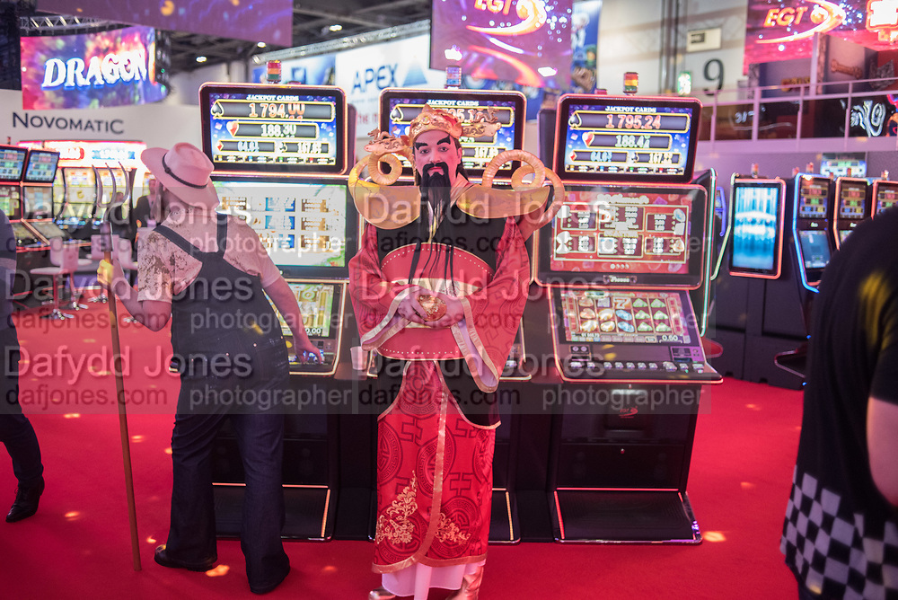 ICE Totally Gaming 2018. Excel Centre. London. 8 February 2018