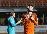Sam Stanton of Dundee United after missing a chance - Dundee United v Dumbarton in the SPFL Championship at Tannadice, Dundee<br /> <br />  - &copy; David Young - www.davidyoungphoto.co.uk - email: davidyoungphoto@gmail.com