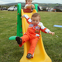Claire and Niall Liddane enjoying the craic at the Sixmilebridge Summer Festival at the weekend.<br />