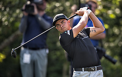 May 11, 2018 - Ponte Vedra Beach, FL, USA - The Players Championship 2018 at TPC Sawgrass..Rickie Fowler on 13 tee (Credit Image: © Bill Frakes via ZUMA Wire)