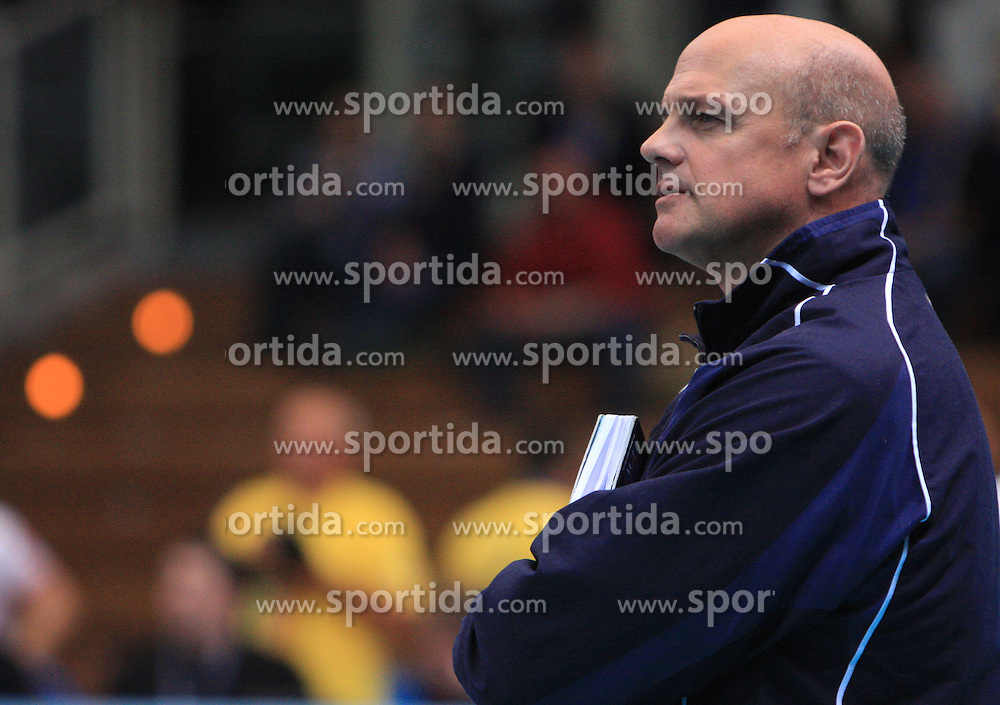 Glenn Hoag at volleyball match of CEV Indesit Champions League Men 2008/2009 between Trentino Volley (ITA) and ACH Volley Bled (SLO), on November 4, 2008 in Palatrento, Italy. (Photo by Vid Ponikvar / Sportida)
