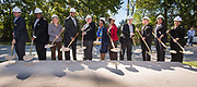 groundbreaking ceremony at Fortis Academy, October 17, 2017.