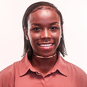 Allstate track & field athlete Najiya Cornish pose for a photo Monday, June 05, 2017, at Padua Academy in Wilmington.