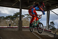 #29 (HUISMAN Ruby) NED at the 2018 UCI BMX Superscross World Cup in Saint-Quentin-En-Yvelines, France.