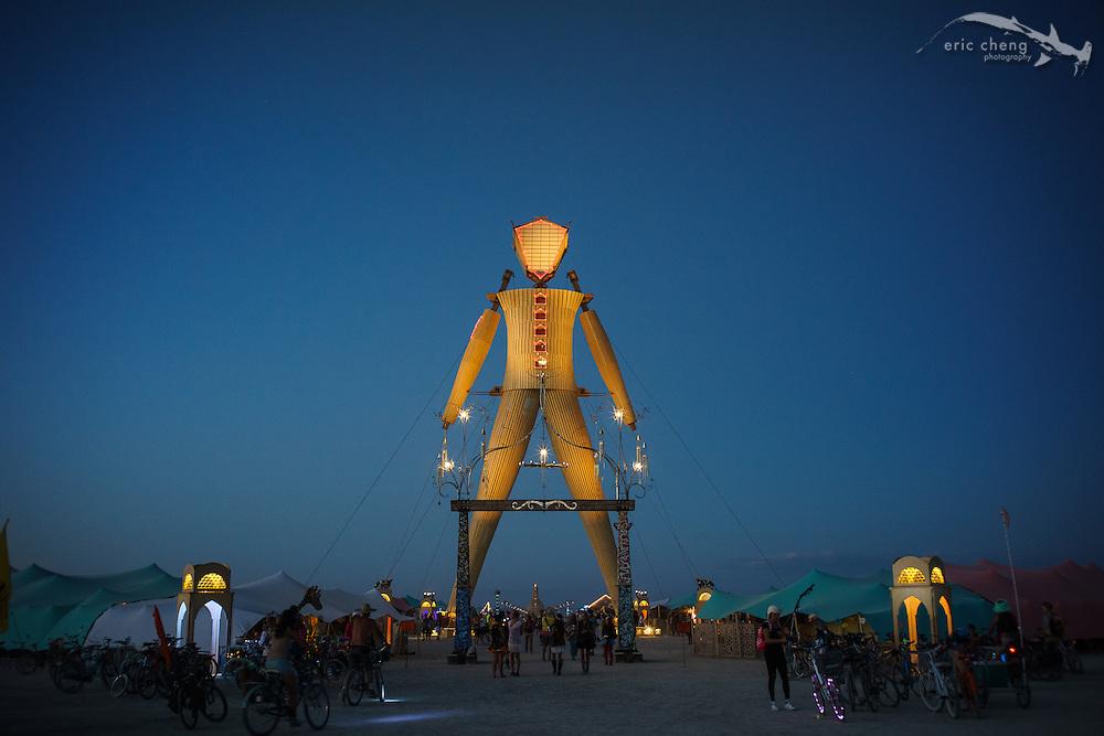 The Man 2014. Burning Man 2014