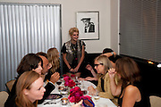 PIXIE GELDOFF, Dinner hosted by editor of British Vogue, Alexandra Shulman in association with Net-A-Porter.com in honour of 25 years of London Fashion Week and Nick Knight. Caprice. London.  September 21, 2009