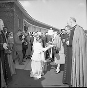13/06/1961<br /> 06/13/1961<br /> 13 June 1961<br /> Royal Visit to Ireland by Princess Grace and Prince Rainier of Monaco. The royal couple pay a visit to Our Lady of Lourdes Hospital, Drogheda.