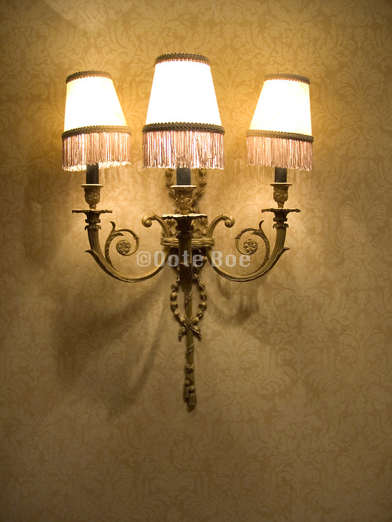 old style wall light