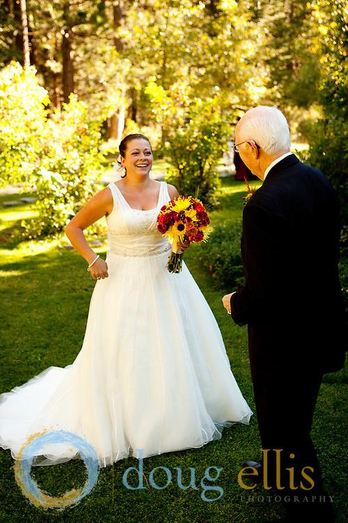 Outdoor wedding photos at a ranch in Nevada, by location wedding photographer Doug Ellis