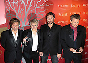 Duran Duran arriving at the VIP rooms in Cannes for their gig at the VIP rooms during the 64th Cannes Film Festival in Cannes, France, 13 May 2011.