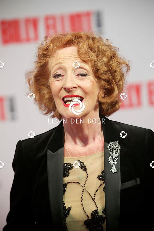 DEN HAAG - In het Afas Theater is de Nederlandse Premiere van Billy Eliot. Met hier op de foto  Gerrie van der Klei. FOTO LEVIN DEN BOER - PERSFOTO.NU