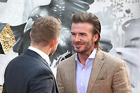 Charlie Hunnam, David Beckham, King Arthur: Legend of the Sword - European premiere, Leicester Square, London UK, 10 May 2017, Photo by Richard Goldschmidt