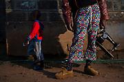 "Kibera based fashion designer David Avido ""LooksLikeAvido"", at his house in the township of Kibera in Nairobi Kenya on Tuesday 17th of September."