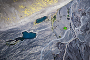 This is the birds view of Iceland.