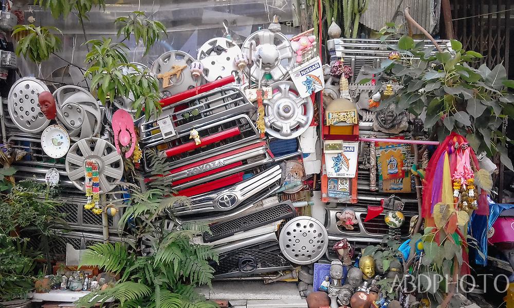 mechanic shrine chiang mai thailand