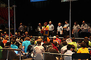 An image from Lincoln Ward's photographic journal of the FIRST Robotics FRC Wisconsin Regional 2011, held at the US Cellular Arena in Milwaukee, Wisconsin.
