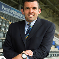 New St Johnstone Assistant Manager Callum Davidson pictured at McDiarmid Park this morning where he an new Manager Tommy Wright held a press conference...18.06.13<br /> Picture by Graeme Hart.<br /> Copyright Perthshire Picture Agency<br /> Tel: 01738 623350  Mobile: 07990 594431
