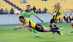 Wellington-Football, A-League, Phoenix v Brisbane Roar, October 13