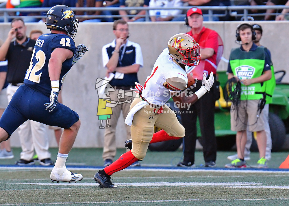 NCAA Football: VMI falls at Akron, 47-24