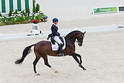 Megan Lane - Caravella<br /> Alltech FEI World Equestrian Games™ 2014 - Normandy, France.<br /> © DigiShots