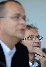 20090807 Pressemøde i Brøndby IF