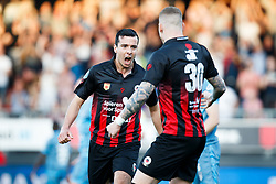 (L-R) Ali Messaoud of Excelsior, Jordy de Wijs of Excelsior during the Dutch Eredivisie match between sbv Excelsior Rotterdam and Heracles Almelo at Van Donge & De Roo stadium on April 18, 2018 in Rotterdam, The Netherlands