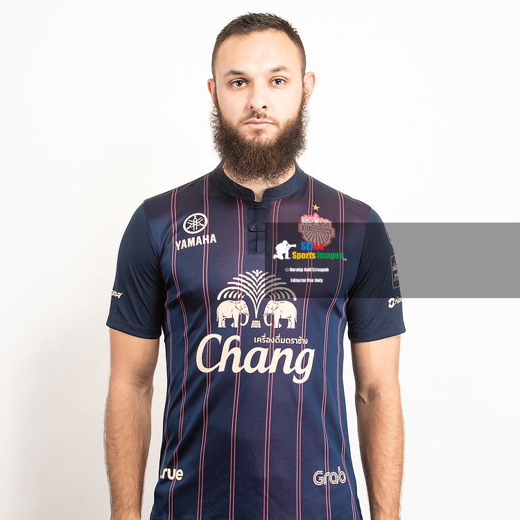 THAILAND - JUNE 26: Nacer Barazite #39 of Buriram United on June 26, 2019.<br /> .<br /> .<br /> .<br /> (Photo by: Naratip Golf Srisupab/SEALs Sports Images/MB Media Solutions)