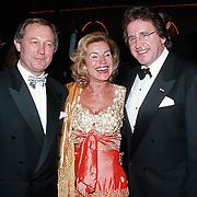 Premiere Dinnershow 2000, Frank Wentink, Nanette Ebli en Lee Towers