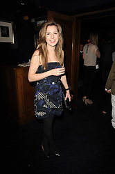 RACHEL FELLOWS at the Tatler Little Black Book Party held at Tramp, 40 Jermyn Street, London on 3rd November 2010.