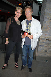 Actor ROBERT FOX and his wife FIONA GOLFAR at the Roundhouse Rock and Roll Circus - an evening to raise funds for the Roundhouse's continued delivery of projects and facilities for young people, held at The Roundhouse, Chalf Farm Road, London on 12th June 2008.<br />