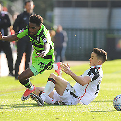 Forest Green Rovers v Morecambe