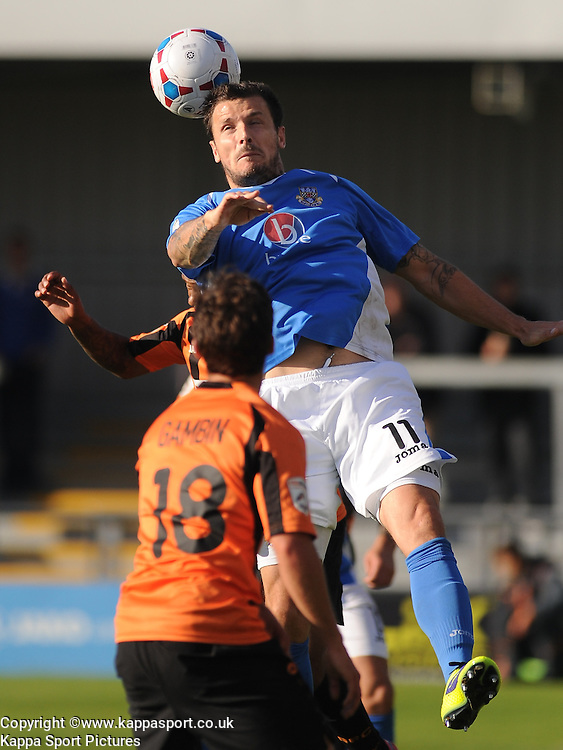 Craig McAllister Easttleigh, Barnet v Eastleigh, Vanarama Conference, Saturday 4th October 2014