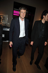 ZAC GOLDSMITH at fundraising dinner and auction in aid of Liver Good Life a charity for people with Hepatitis held at Christies, King Street, London on 16th September 2009.