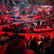NLD/Hilversum/20061230 - 1e Live uitzending X-Factor 2006, studio