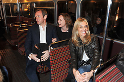 ALEXANDER ARMSTRONG, his wife HANNAH and KIM HERSOVat a reception hosted by Ralph Lauren Double RL and Dexter Fletcher before a private screening of Wild Bill benefitting FilmAid held at RRL 16 Mount Street, London on 26th March 2012.