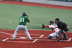 21 April 2015:  Pat Mollo during an NCAA Inter-Division Baseball game between the Illinois Wesleyan Titans and the Illinois State Redbirds in Duffy Bass Field, Normal IL