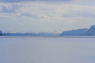 Looking towards Manhattan on the Hudson River, Irvington, NY