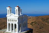 Grece, Cyclades, ile de Kea, eglise miniature // Greece, Cyclades island, Kea island, miniature church