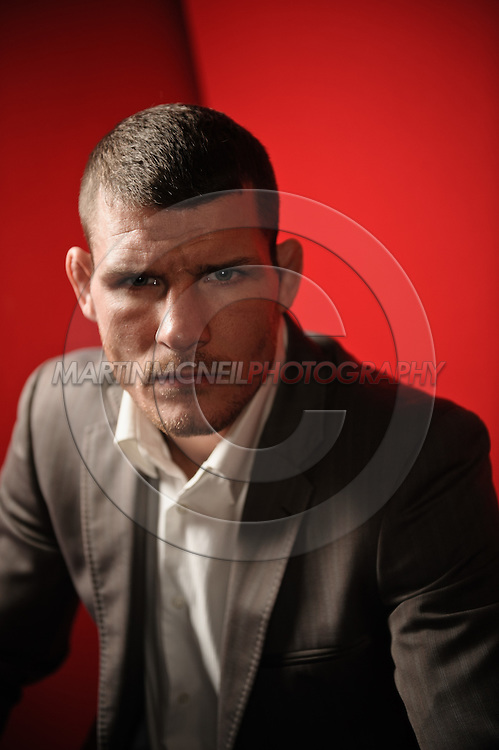 "A portrait of mixed martial arts athlete Michael ""The Count"" Bisping"