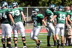 17 September 2011: T.J. Stinde during an NCAA Division 3 football game between the Aurora Spartans and the Illinois Wesleyan Titans on Wilder Field inside Tucci Stadium in.Bloomington Illinois.