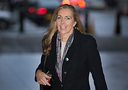 © Licensed to London News Pictures. 24/01/2016. London, UK. Rona Fairhead, Chairwoman of the BBC Trust arrives at Broadcasting House before appearing on the Andrew Marr Show.  Photo credit: Peter Macdiarmid/LNP