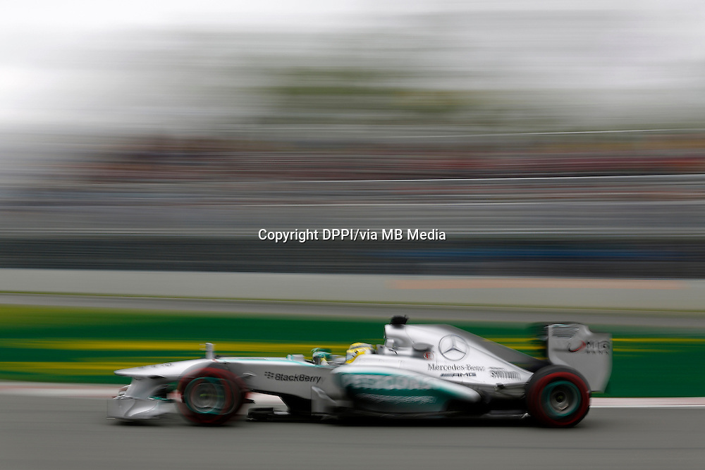 MOTORSPORT - F1 2013 - GRAND PRIX OF CANADA - MONTREAL (CAN) - 07 TO 09/06/2013 - PHOTO FRANCOIS FLAMAND / DPPI - ROSBERG NICO (GER) - MERCEDES GP MGP W04 - ACTION
