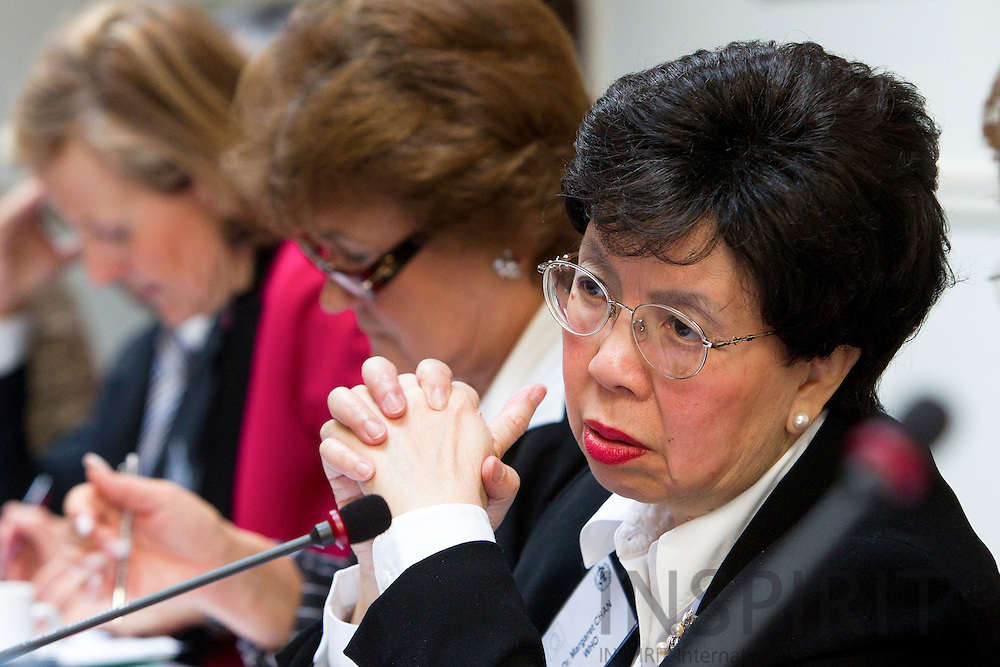 Dr. Margaret Chan, Director-General for WHO, at the World Health Organization and European Commission Summit in Brussels Friday 25 March 2011. PHOTO: ERIK LUNTANG / INSPIRIT Photo.