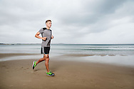 Clayton Fettell (AUS). Triathlon Features. Noosa, Queensland, Australia. 04/11/2013. Photo By Lucas Wroe