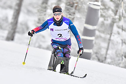 MASTERS Oksana, USA, LW12 at the 2018 ParaNordic World Cup Vuokatti in Finland