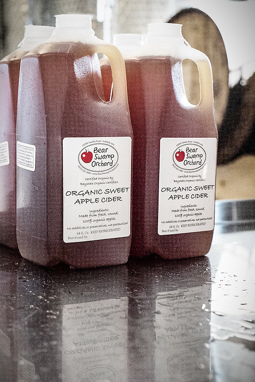Apple cider from Bear Swamp Orchard & Cidery