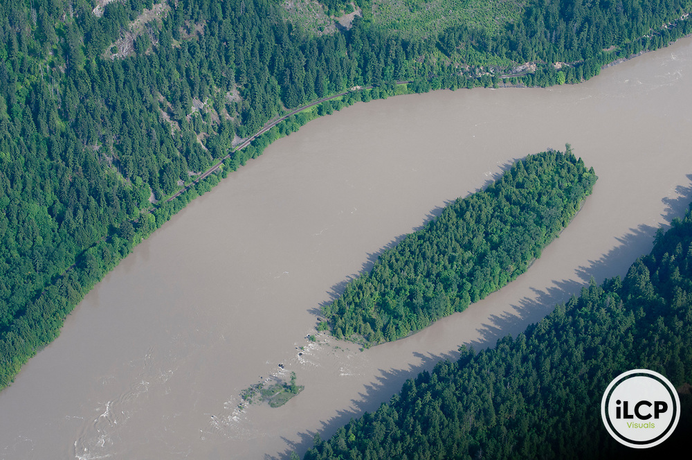 Island in the Fraser River.