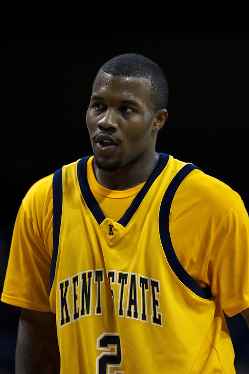 26 January 2010:  Kent State's Chris Singletary (2) during the NCAA basketball game between Kent State and the Toledo Rockets at Savage Arena in Toledo, OH.
