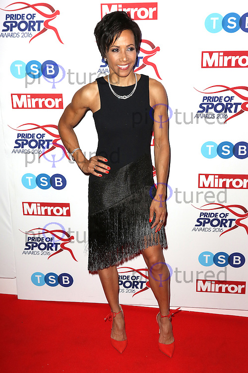 Kelly Holmes, Pride of Sport Awards, Grosvenor House Hotel, London UK, 07 December 2016, Photo by Richard Goldschmidt