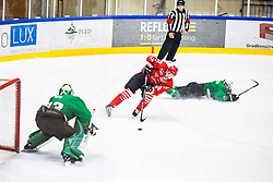 KOREN Gal vs US Zan during the match between HDD Jesenice vs HK SZ Olimpia at 16th International Summer Hockey League Bled 2019 on 24th August 2019. Photo by Peter Podobnik / Sportida